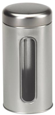 150g Silver caddy trick seal lid, round