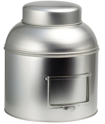 Silber Regalstanddose rund 1500g