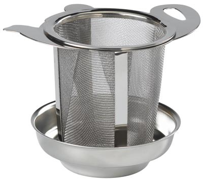 Tea infuser with dish 65 mm