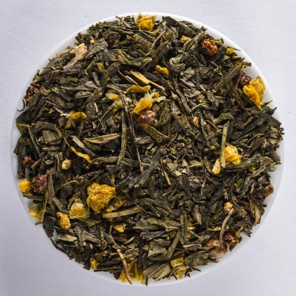 Nerprun - Ginseng (Thé vert aromatisé)