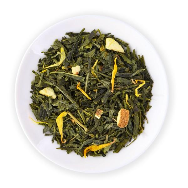 Mandarine-Vanille-Grün Bio (Aromat.Grüntee) DE-ÖKO-003
