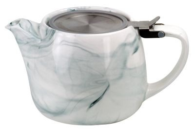 Porcelain teapot Enja' 540 ml grey