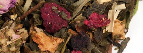 Rosa - Mora Bio (Té verde aromatizado)
