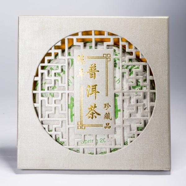 China Pu-Erh White Beeng Cha ca. 400 g (gift box) White tea
