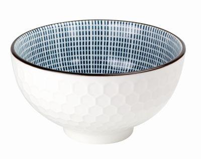 Tazón de porcelana 'panal' 275 ml