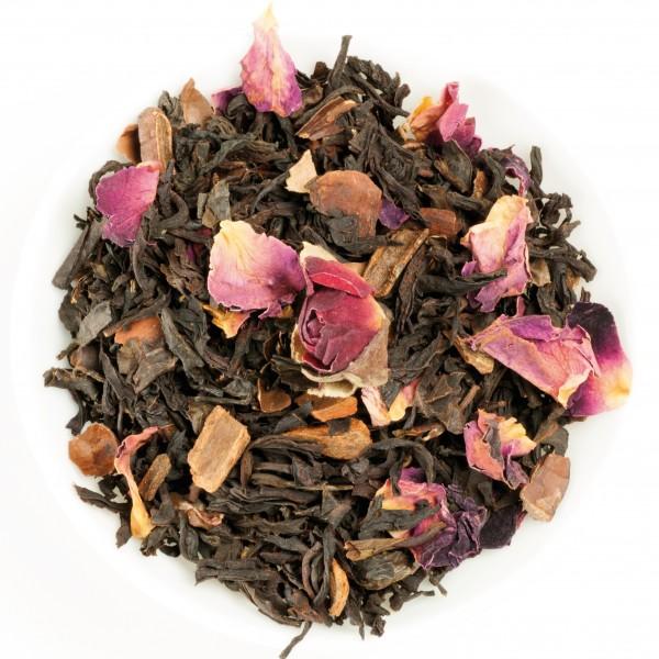 Flor de chocolate (Té negro aromatizado)