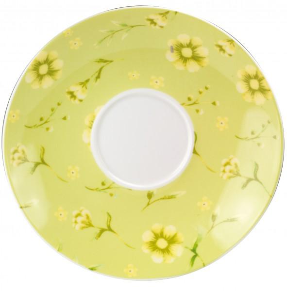 Brillant porcelain saucer 'Flora' Ø 17,5 cm
