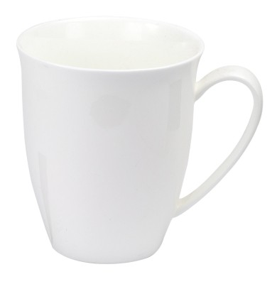 bone china mug white 380 ml