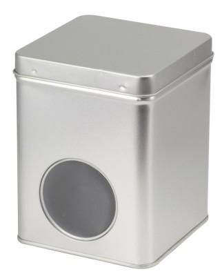 Silber 250 g SCD eckig mit Fenster