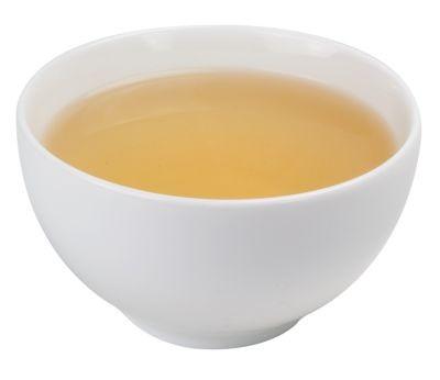 Taza de té de porcelana 180 ml blanca