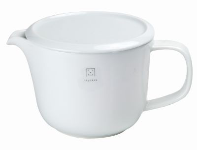 Japanese tea pot 500 ml'Shiro'