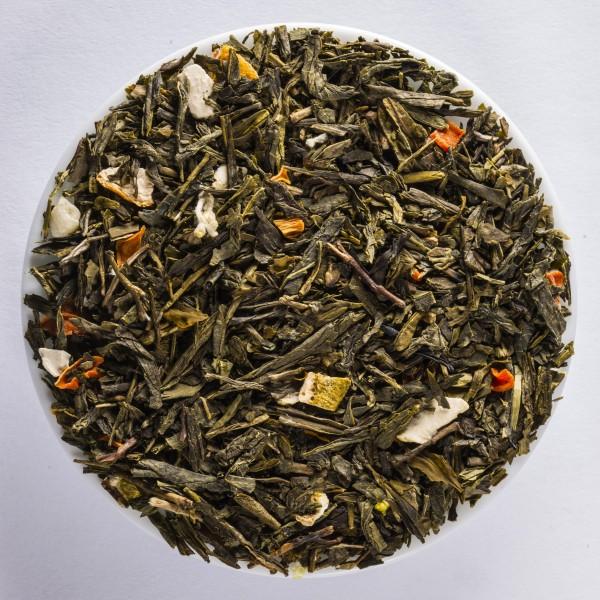 Mango-Django (Thé vert aromatisé)