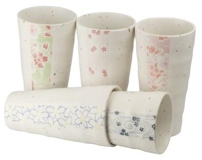 Japan mug 'Iwate' 5-assorted in gift box