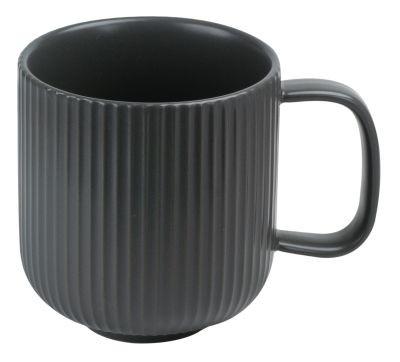 #Keramik Becher 'Fina' (grau) 350 ml