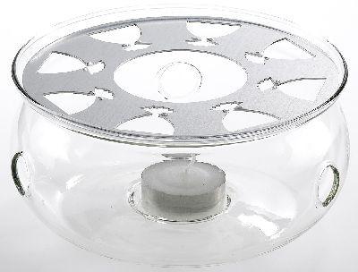 Calentador de cristal 'Viktor' 13 cm