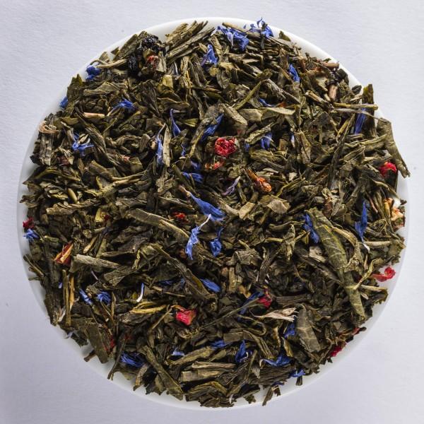 Bisou à la cannelle (Thé vert aromatisé)