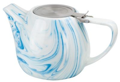 Tetera de porcelana 'Enja' 1 l azul
