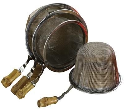 Tamiz de acero inoxidable 70 mm diámetro exterior 79 mm