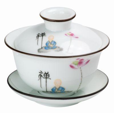 Porcelain Gaiwan 'Nasrin' 130 ml