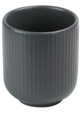 Ceramics tea cup 'Fina' (grey) 220 ml