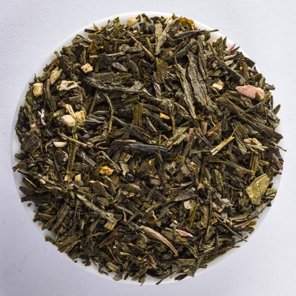 Rhubarb-Cream (Flavoured green tea)