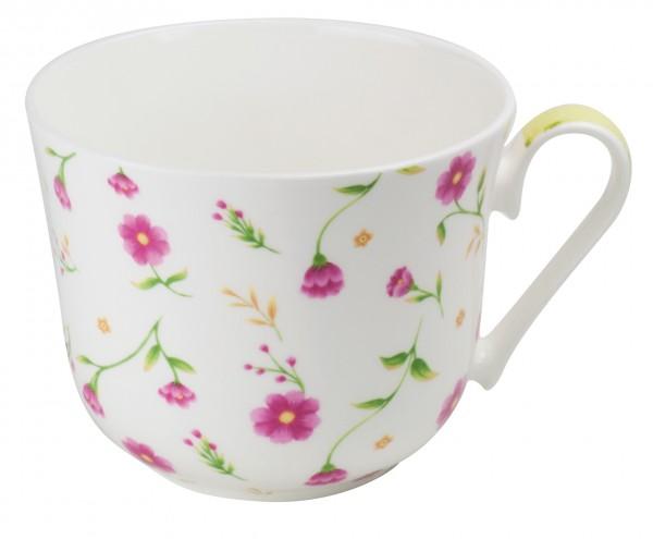 Tasse jumbo en por. brillante 'Flora' 500 ml