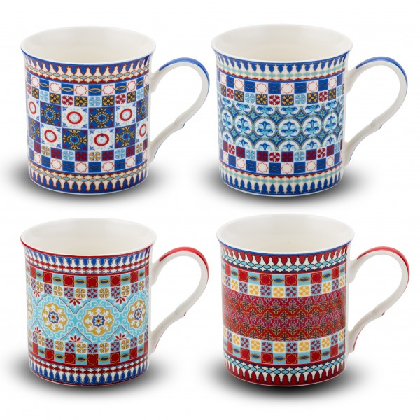 NBC mug 'Dila' 350 ml, 4-assorted designs