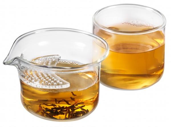Glas Tea for one Set 'Krista' 150 ml, 2-teilig