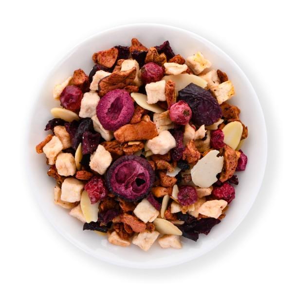 Berry-Almond Crumble (Fruit melange)