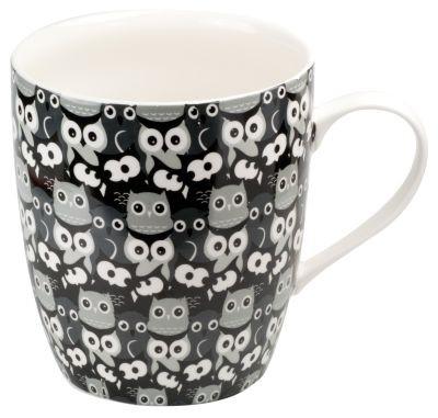 #Leicht-Keramik Mega-Mug 800 ml 'Eulen' nicht weiter rabattfähig