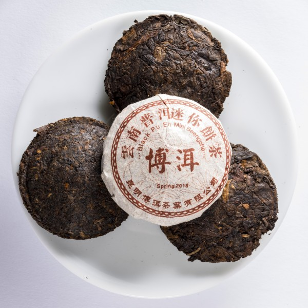 China Pu-Erh Mini Beeng Cha ca. 9 g