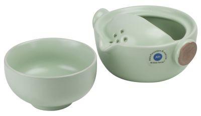 Thé en porcelaine pour un 160 ml vert