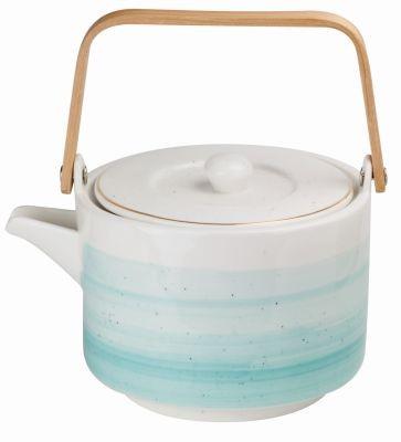 # Porzellan Teekanne 'Turquoise' 800 ml