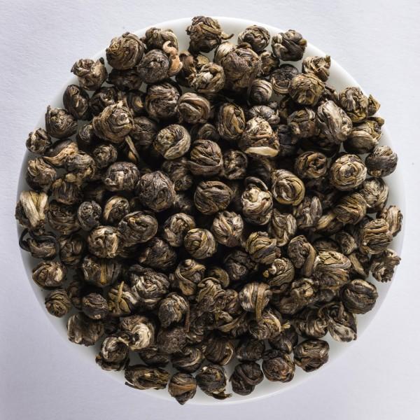 China Jasmine Pearls - Zhen Zhu Bio Green Tea, DE-ÖKO-003