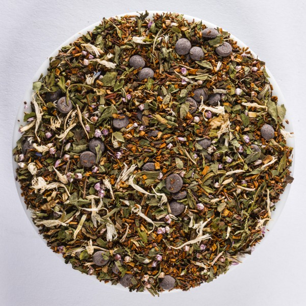Minty Chocolate (flavoured Rooibos* blend) *Protected designation of origin