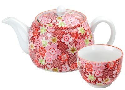 Japan Teeset 'Akina' mit 1 Kanne und 2 Cups