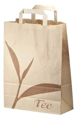 paper carrier bag small 80g/m², 250 pcs