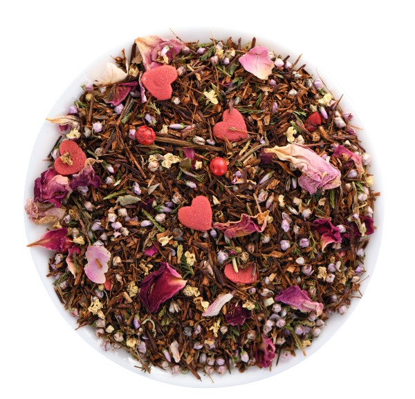 New Love (flavoured Rooibos* blend) *Protected designation of origin