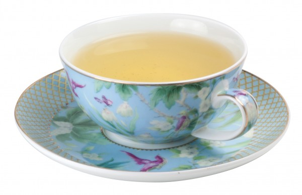 Porcelain cup with saucer 180 ml 'Paradise'