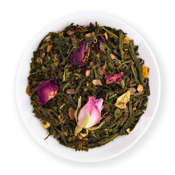 Green Christmas Tea (Té verde aromatizado)