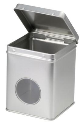 Silber 125 g SCD eckig mit Fenster