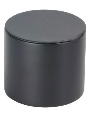 Tapa de enchufe 40 g redondo negro