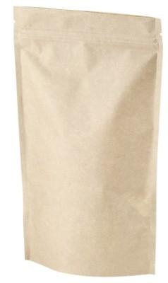 Bolsa doypack papel kraft 75 g 130 x 200 mm