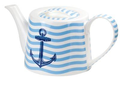 !Porzellan Teekanne 1 l 'Anker'