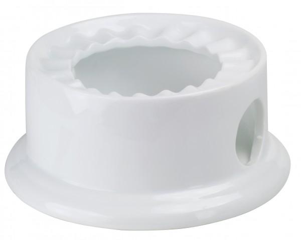 Stövchen weiß Ø 11 cm