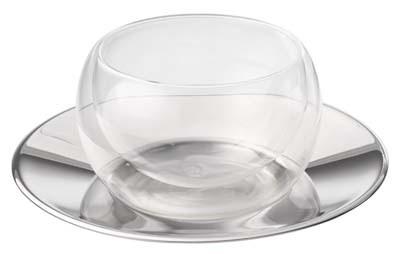 Caja de vidrio doble de 150 ml